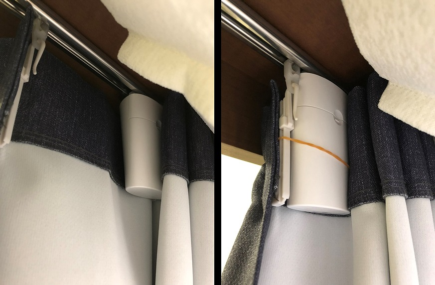 めざましカーテン「mornin'」を使って自宅カーテンを自動化してみた