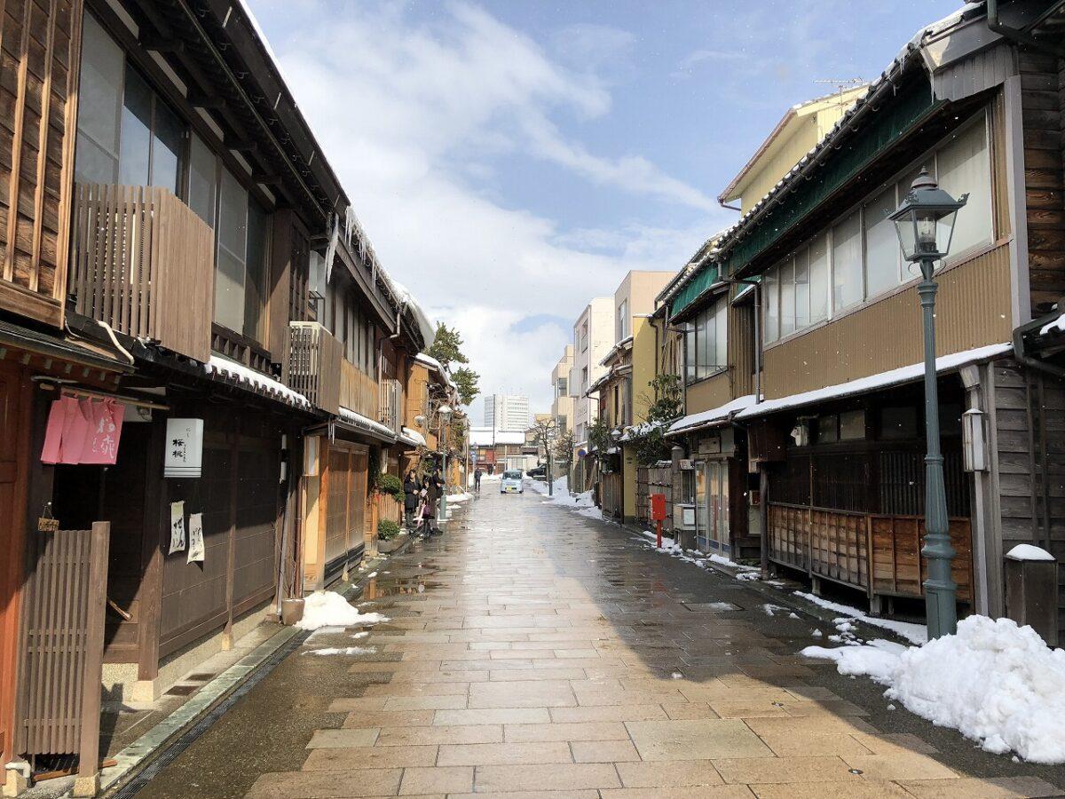 1泊2日金沢旅行!にし茶屋街とひがし茶屋街で江戸時代にタイムスリップ