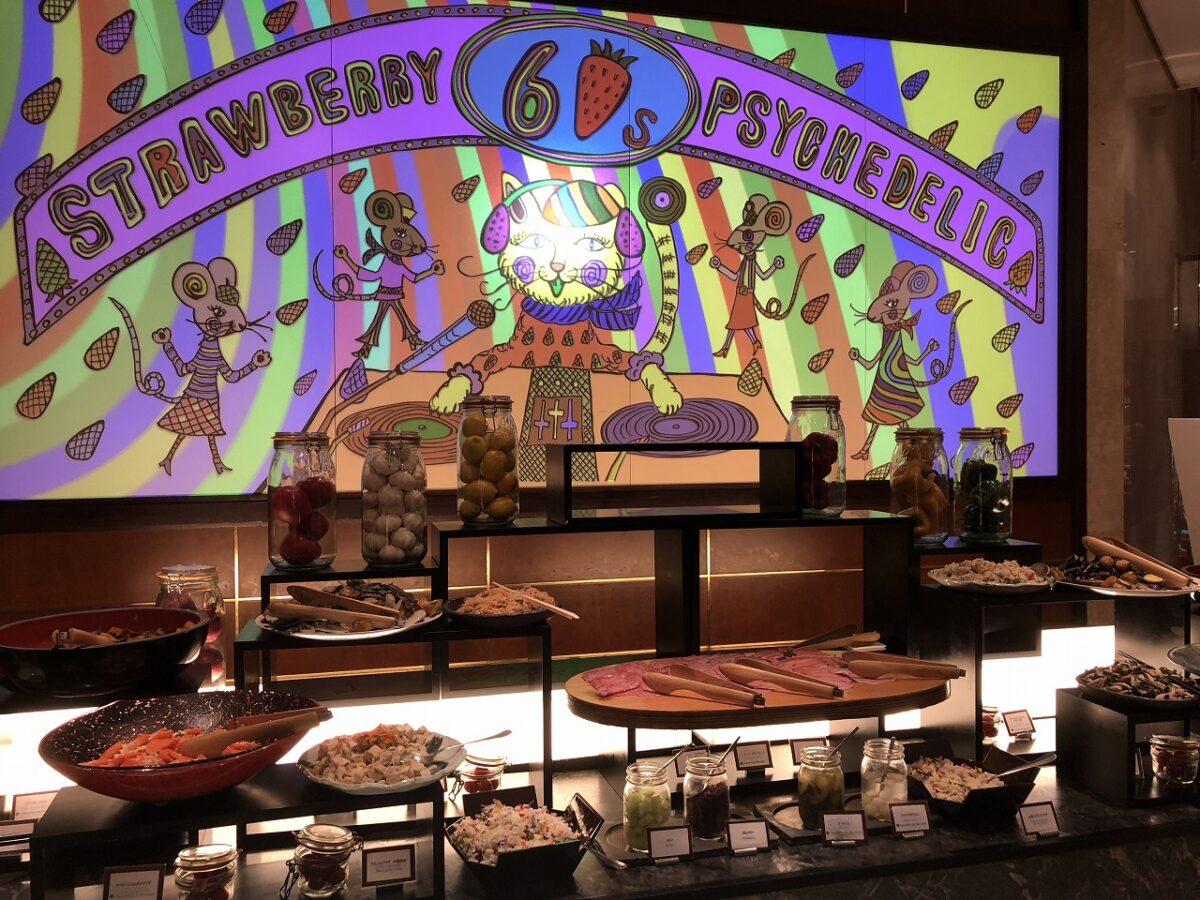 ヒルトン東京のブッフェ「ストロベリーデザートフェア」で爆食い