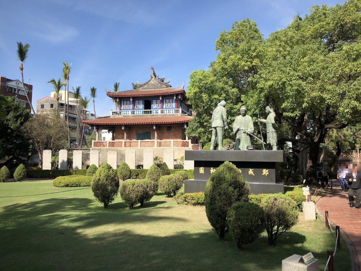 オランダ人によって建設された?台南の「赤崁樓」を訪れました!