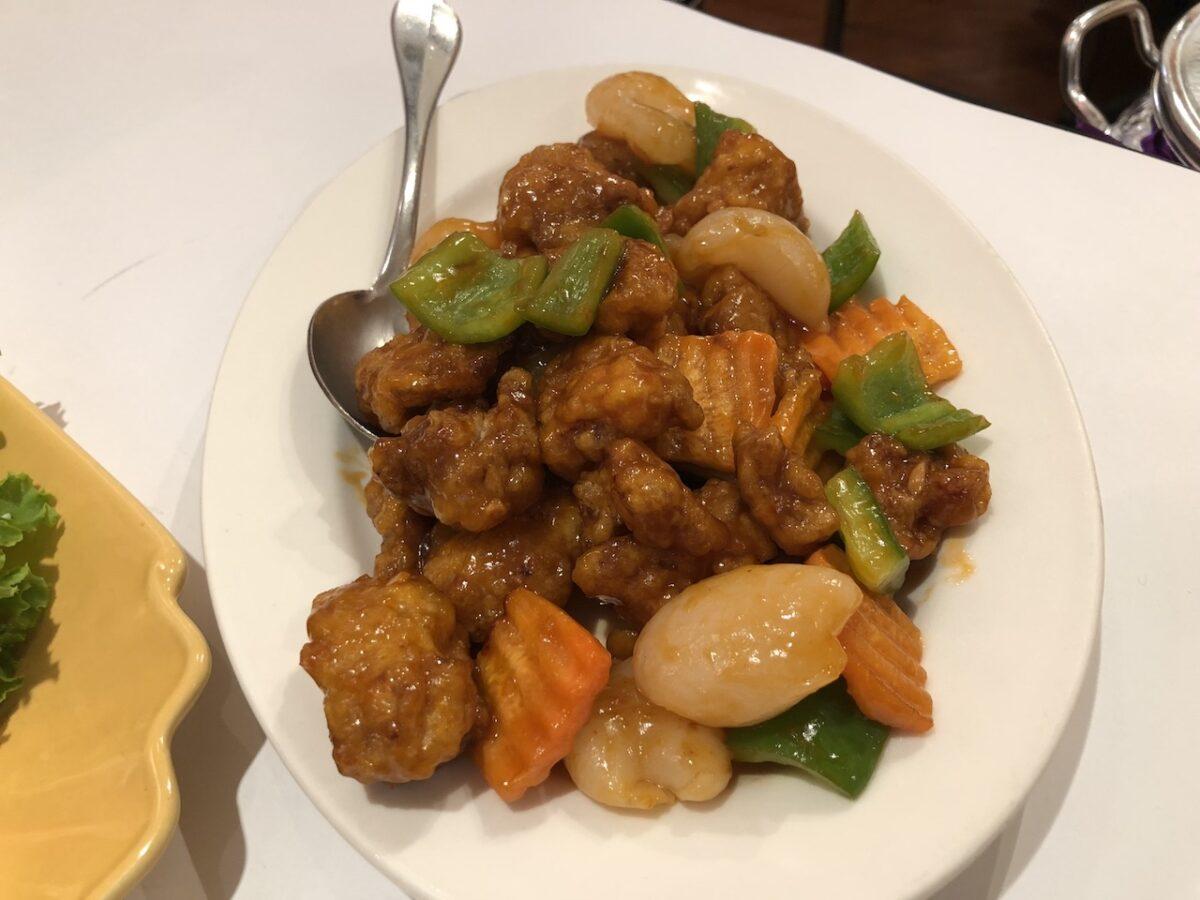 台南の新光三越にある「瓦城」でタイ料理をいただきました。