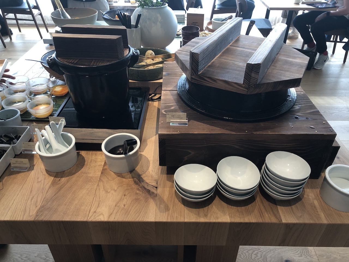 かまどご飯がうれしい!「MUJI HOTEL GINZA」の朝食ビュッフェ!