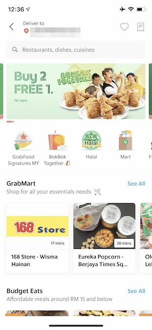 【現金不要!】マレーシア・クアラルンプールではGrabFoodが超絶便利!【使い方も解説します】
